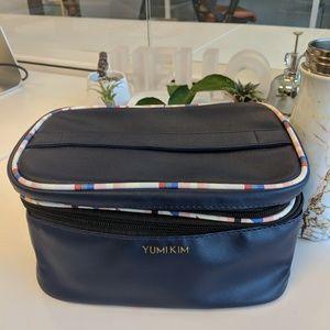 Yumi Kim Navy Makeup Train Case - New!
